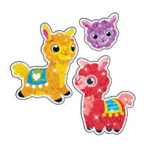 Llama Llove Sparkle Stickers