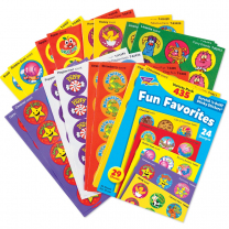 Fun Favourites Stinky Stickers Value Pack