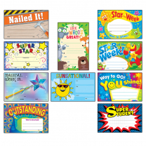 Certificate Variety Pack - Junior