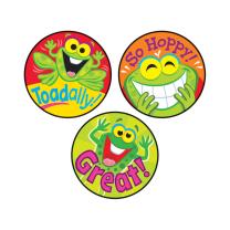 Ribberting Rewards Stinky Stickers