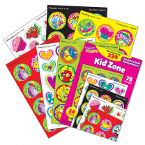 Kid Zone Stinky Stickers Variety Pack
