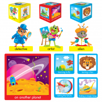 Playtime Pals Tell-A-Story Bulletin Board