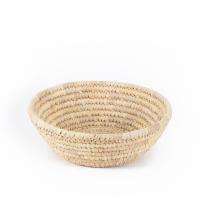 Large Natural Round Basket