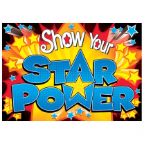 Show Your Star Power Poster