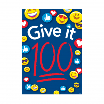 Give it 100 Poster