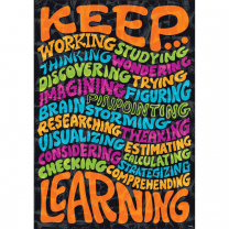 Keep Learning Poster