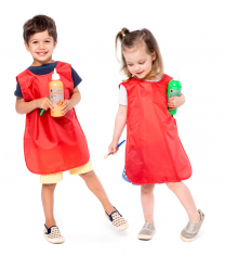 Toddler Apron - Red