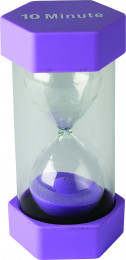 10 Minute Sand Timer - Purple