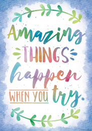 Amazing Things Happen Poster