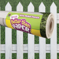 Backing Paper Rolls - White Picket Fence