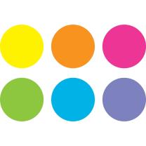Spot on Floor Markers - Bright Circles (18cm)