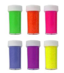 Neon Glitter - 6 pack