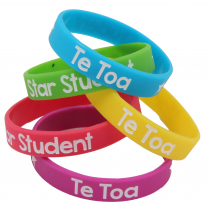 Te Toa Wristbands - Pack of 10