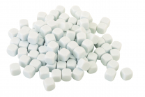 Blank White Dice 22mm - Set of 5