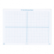 Coordinate Grid Write & Wipe Board