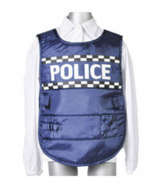 Police Vest and Cap