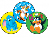Awesome Animals Stinky Stickers (Tropical)