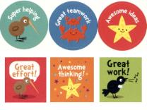 New Zealand Praise Stickers