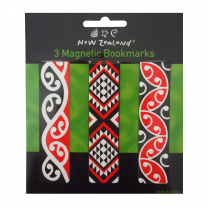 Maori Magnetic Bookmarks - Pack of 3