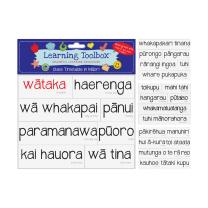 Magnetic Class Timetable in Maori