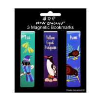 New Zealand Birds Magnetic Bookmarks