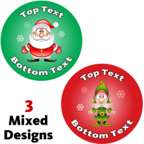 Christmas Personalised Stickers