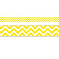 Yellow Chevron Trimmers