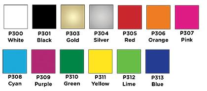 Sticker Colour Choices
