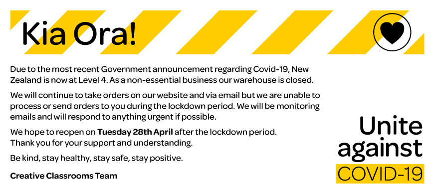 Covid Update for Creative Classrooms